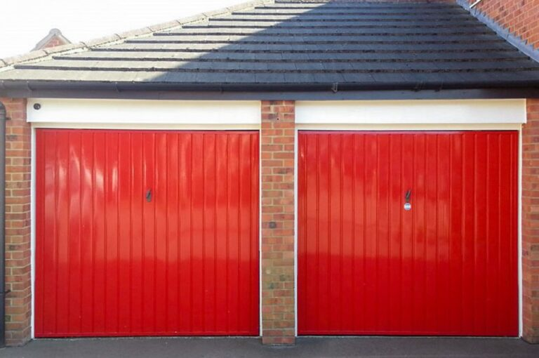 Newton Abbot Double Garage Door Conversion
