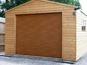 Paignton Wooden Garage Door Company