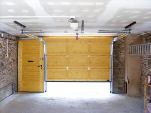 broken garage door Devon