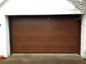 Timber garage door automation Dawlish