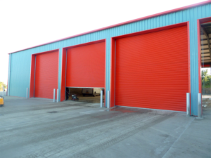 Warehouse Roller Security Shutter Installers Torquay